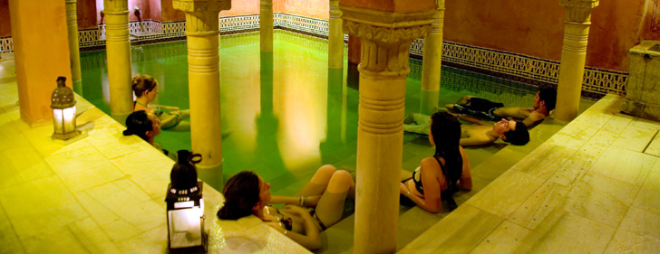 Baños Arabes Que Son:Baños árabes en Granada