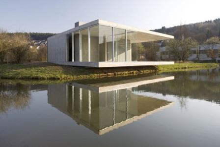↑ Pavilion in Siegen, Germany by Ian Shaw Architekten (Photo: Felix Krumbholz)